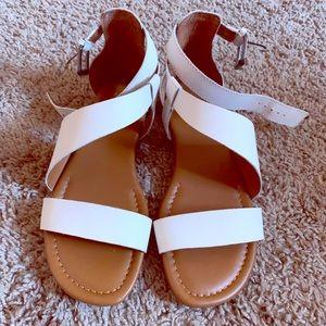 Franco Sarto White Gladiator sandals size 6.5